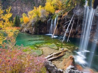 обои Осенние водопады фото