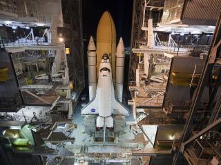 обои Ракетный комплекс наса фото