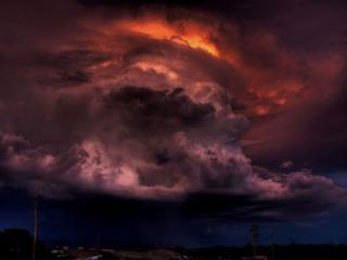 обои Грозовые облака,   США фото