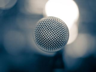 обои Вид микрофона сверху фото