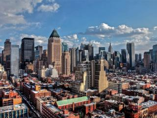 обои Новые и старые кварталы города фото