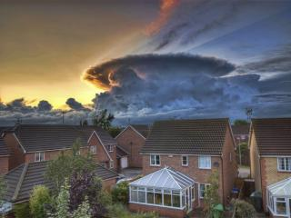 обои Кучевое дождевое облако фото