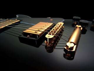 обои Шикарная гитара фото