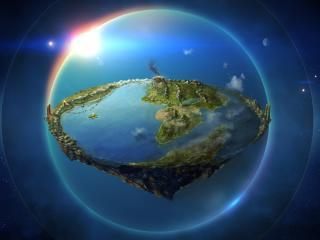 обои Земля в иллюминаторе фото