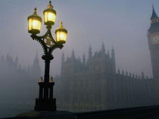 обои Лондонские фонари фото