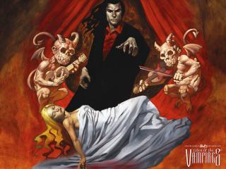 обои для рабочего стола: Выход вампира