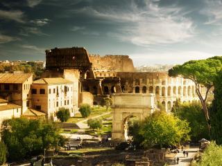 обои Древние стены фото