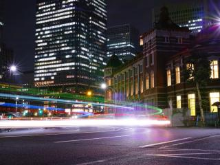 обои Скорость городских автомобильных дорог фото