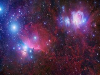 обои Разноцветная вселеннаая фото