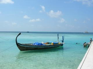 обои Лодки пришвартованы фото