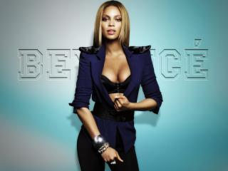 обои Beyonce Knowles в открытом пиджаке фото