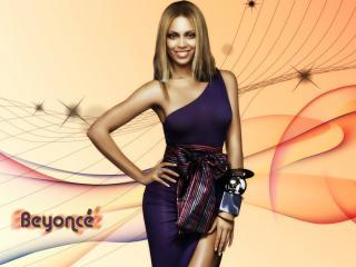 обои Beyonce Knowles с массивными браслетами фото
