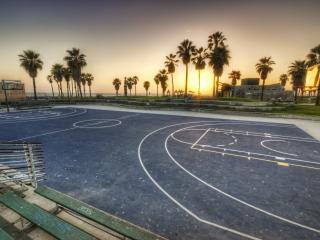 обои Площадка для баскетбола фото