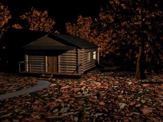обои Лесной домик фото