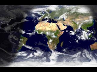 обои Земля с орбиты фото