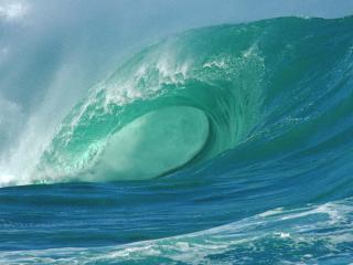 обои Волна в океане фото