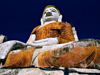 обои Большая статуя Будды фото
