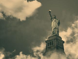 обои Памятник Статуя свободы фото