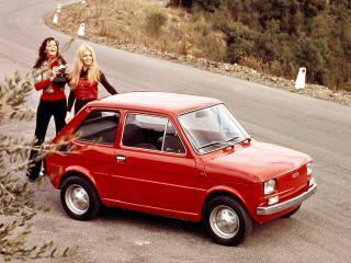 обои Ретро фото моделей около Фиата фото