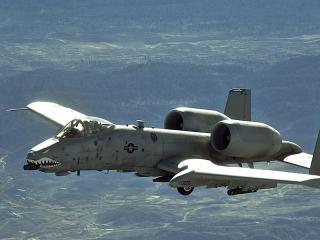 обои Самолет с двумя турбинами фото