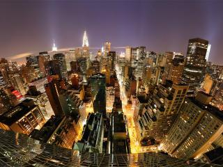 обои для рабочего стола: Города кварталы высотных зданий