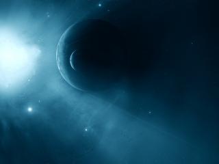 обои Тусклый свет космоса фото