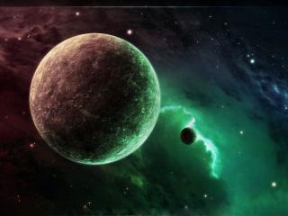 обои Цветность пространства космического фото