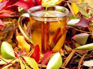 обои Осенний чай согреет Душу фото