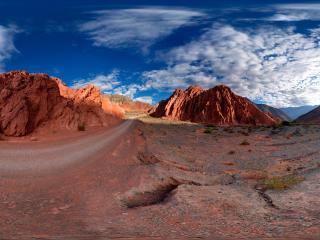 обои Дорога в горах фото