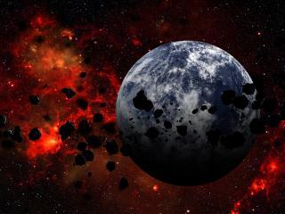 обои Камни у планеты фото