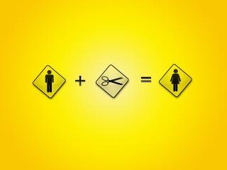 обои Знаки на желтом фоне фото