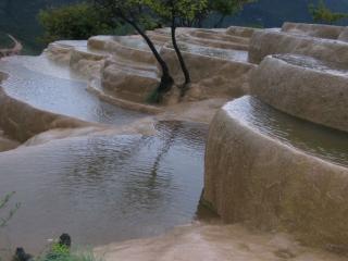 обои Водопад Baishuitai фото