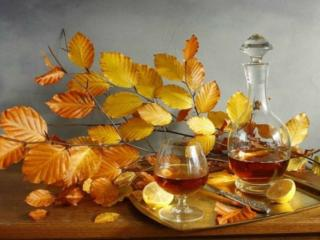 обои Натюрморт - Осеннее вино фото