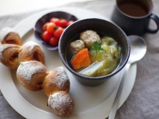 обои Суп с фрикадельками фото