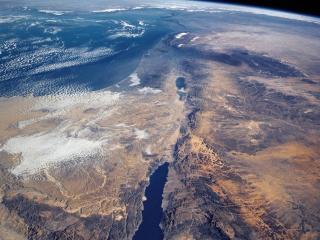 обои Вид земли из космоса фото