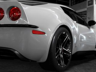 обои Белый спортивный авто Лотус фото