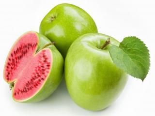 обои Яблочки арбузные фото