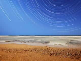 обои Графический рисунок побережья фото
