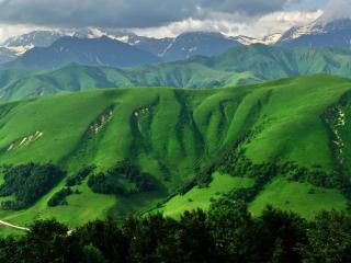 обои Холмы и горы фото