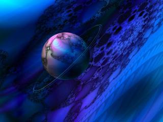 обои Ювелирный фрактал - Марс фото