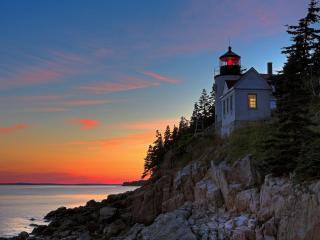 обои Прибрежный маяк фото
