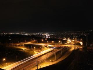 обои Ночная Уфа фото