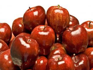 обои Блеск спелых яблок фото