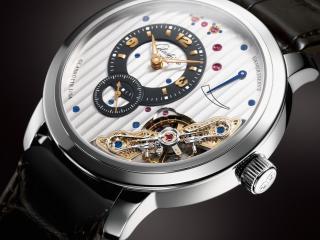 обои Шикарные часы с кожанным ремешком фото