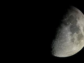 обои Луна в тени фото