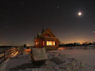 обои Вечер на хуторе фото