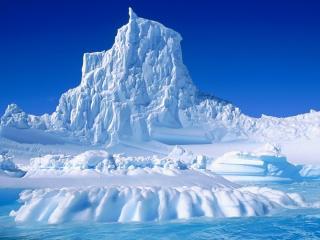 обои Причудливые виды Антарктики фото