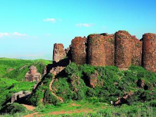 обои Развалины старого замка фото