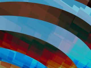 обои Рисованные абстрактные дуги фото