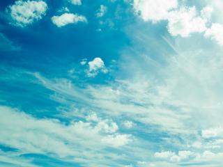 обои Бело - голубые небеса фото